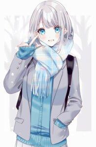 Rating: Safe Score: 29 Tags: misumi_(macaroni) seifuku sweater User: Dreista