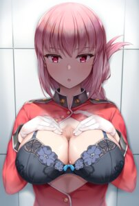 Rating: Questionable Score: 17 Tags: bra cleavage fate/grand_order florence_nightingale_(fate/grand_order) lomocya open_shirt uniform User: Dreista