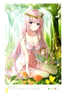 Rating: Safe Score: 62 Tags: cleavage dress megurine_luka shirako_miso summer_dress vocaloid User: kiyoe