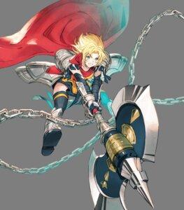 Rating: Questionable Score: 1 Tags: amelia_(fire_emblem) armor fire_emblem fire_emblem:_seima_no_kouseki garter nintendo taroji thighhighs weapon User: fly24