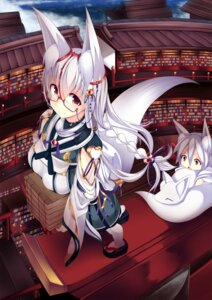 Rating: Safe Score: 53 Tags: animal_ears atuuy kitsune megane tail User: Mr_GT