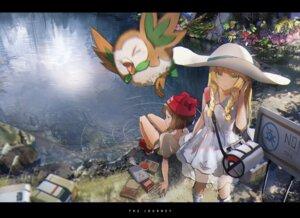 Rating: Safe Score: 96 Tags: dress lillie_(pokemon) mizuki_(pokemon) novelance pokemon pokemon_sm rowlet see_through User: LolitaJoy