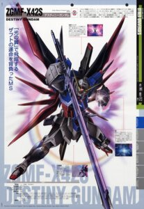 Rating: Safe Score: 7 Tags: destiny_gundam gundam gundam_seed gundam_seed_destiny mecha shigeta_satoshi sword User: Radioactive