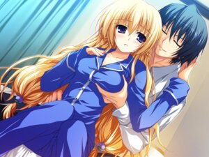 Rating: Questionable Score: 45 Tags: akatsuki_no_goei breast_grab game_cg kurayashiki_tae pajama syangrila tomose_shunsaku User: kurokami
