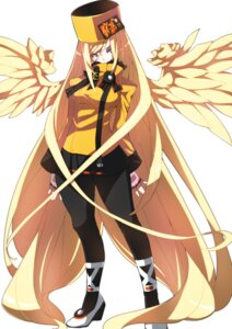 Rating: Safe Score: 16 Tags: guilty_gear makai millia_rage pantyhose wings User: Mr_GT
