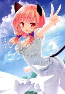Rating: Safe Score: 27 Tags: alm almism animal_ears cleavage dress nekomimi summer_dress tagme tail User: Radioactive