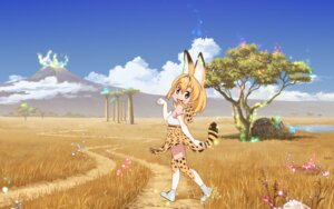 Rating: Safe Score: 11 Tags: animal_ears kemono_friends serval tagme tail thighhighs User: moonian