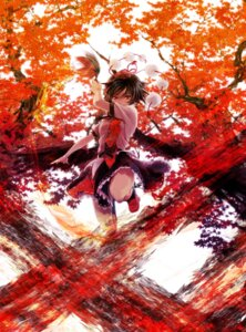 Rating: Safe Score: 39 Tags: miyuki_ruria shameimaru_aya touhou wings User: Nekotsúh