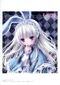 Rating: Safe Score: 36 Tags: animal_ears autographed bunny_ears gothic_lolita k-books lolita_fashion tinkle User: WtfCakes