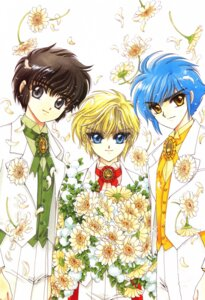 Rating: Safe Score: 3 Tags: clamp clamp_school_detectives ijuuin_akira imonoyama_nokoru takamura_suou User: Share