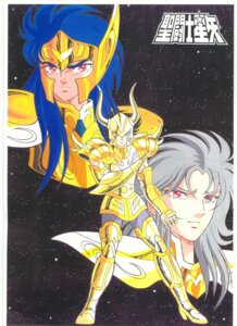 Rating: Safe Score: 1 Tags: acuarius_camus capricorn_shura gemini_saga male saint_seiya User: Radioactive