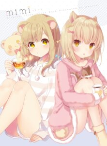 Rating: Safe Score: 75 Tags: amashiro_natsuki animal_ears User: fairyren