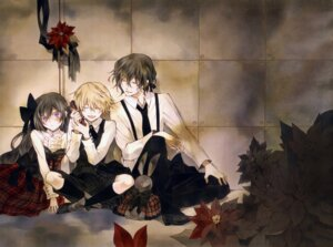 Rating: Safe Score: 19 Tags: alice_(pandora_hearts) dress gilbert_nightray mochizuki_jun oz_vessalius pandora_hearts User: 逍遥游