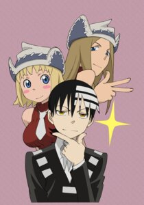 Rating: Safe Score: 11 Tags: death_the_kid elizabeth_thompson patricia_thompson soul_eater User: hecfa
