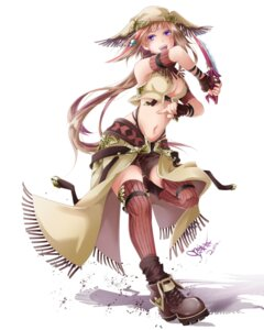 Rating: Safe Score: 31 Tags: cleavage thighhighs tyouya weapon User: Zenex