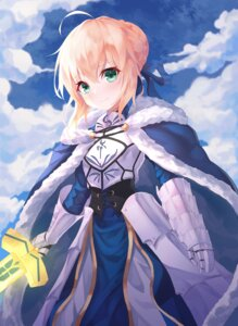 Rating: Safe Score: 14 Tags: armor dress fate/stay_night minin982 saber sword User: Dreista