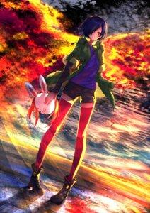 Rating: Safe Score: 38 Tags: kirishima_touka swordsouls thighhighs tokyo_ghoul User: SubaruSumeragi