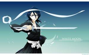 Rating: Safe Score: 9 Tags: bleach kuchiki_rukia sword vector_trace watermark User: charunetra