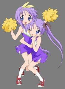 Rating: Safe Score: 26 Tags: cheerleader hiiragi_kagami hiiragi_tsukasa lucky_star transparent_png vector_trace User: Shuugo