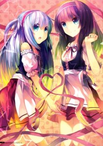 Rating: Safe Score: 52 Tags: cube dress en@rain kurano_ema kurano_kun_chi_no_futago_jijou kurano_yae User: Hatsukoi