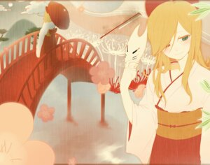 Rating: Safe Score: 7 Tags: chi_yu heterochromia kimono vocaloid User: charunetra