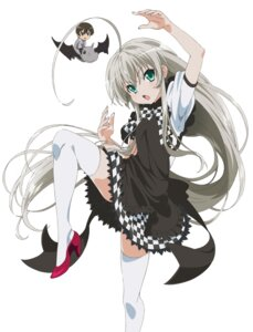 Rating: Safe Score: 20 Tags: haiyore!_nyaruko-san heels jpeg_artifacts nyaruko thighhighs yasaka_mahiro User: saemonnokami