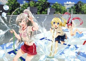Rating: Safe Score: 45 Tags: bikini_top haiyore!_nyaruko-san hasuta kuuko_(haiyore_nyaruko-san) nyaruko school_swimsuit see_through swimsuits takiyama_masaaki wet wet_clothes User: Anonymous