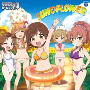 Rating: Safe Score: 26 Tags: bikini cleavage disc_cover honda_mio jougasaki_mika katagiri_sanae moroboshi_kirari satou_shin swimsuits the_idolm@ster the_idolm@ster_cinderella_girls User: saemonnokami