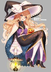 Rating: Safe Score: 25 Tags: halloween heels kirisame_marisa mokokiyo_(asaddr) touhou witch User: Mr_GT