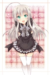 Rating: Safe Score: 43 Tags: haiyore!_nyaruko-san kousetsu nyaruko thighhighs User: fairyren