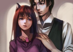 Rating: Safe Score: 33 Tags: animal_ears craft_lawrence holo spice_and_wolf yykuaixian User: Eruru