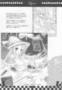 Rating: Safe Score: 4 Tags: carina_verritti monochrome shukufuku_no_campanella sugiyama_genshou User: Radioactive