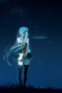 Rating: Safe Score: 49 Tags: hatsune_miku thighhighs vocaloid yyb User: charunetra