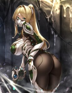 Rating: Questionable Score: 62 Tags: ass bodysuit gun houtengeki pointy_ears tagme User: Mr_GT