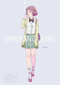 Rating: Safe Score: 31 Tags: miri_nanase smoking User: Anemone