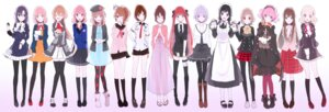 Rating: Safe Score: 21 Tags: amnesia asagi_akira asagi_haru brothers_conflict clock_zero crossover diabolik_lovers dress felicità gekka_ryouran_romance gomi_chiri hakuouki hana_awase hanayaka_nari_waga_ichizoku hinata_ema japanese_clothes komori_yui kurou_nadeshiko la_storia_della_arcana_famiglia lulu_(wand_of_fortune) maid mikoto_(hana_awase) nanami_haruka_(uta_no_prince_sama) norn9 pantyhose scared_rider_xechs seifuku shirakui_nanami shujinkou_(amnesia) shujinkou_(tmgs3) starry_sky thighhighs tokimeki_memorial_girl's_side_3rd_story uta_no_prince_sama wand_of_fortune yahisa_tsukiko yukimura_chizuru User: Radioactive