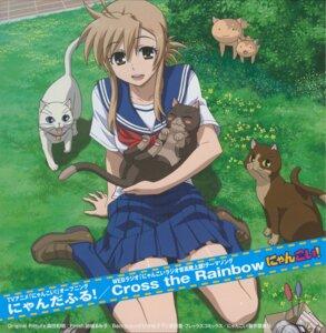 Rating: Safe Score: 12 Tags: mizuno_kaede morita_kazuaki neko nyan_koi screening seifuku User: blooregardo