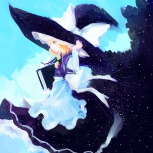 Rating: Safe Score: 7 Tags: dress kirisame_marisa sakana_(packetsjp) touhou witch User: eridani