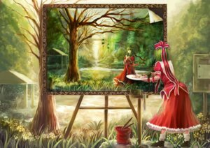 Rating: Safe Score: 32 Tags: jpeg_artifacts kagiyama_hina landscape oto_taku touhou User: Mr_GT