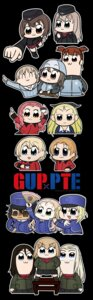 Rating: Safe Score: 4 Tags: chibi crossover girls_und_panzer pop_team_epic tagme uniform User: Radioactive