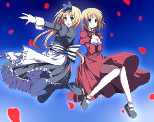 Rating: Safe Score: 15 Tags: belarus dress hetalia_axis_powers liechtenstein pantyhose sakino_saku User: Radioactive