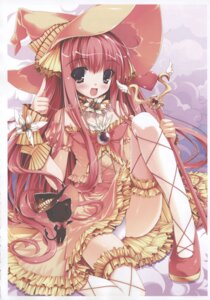 Rating: Safe Score: 37 Tags: lolita_fashion pantsu witch yuki_usagi User: aoie_emesai