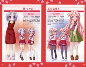 Rating: Safe Score: 4 Tags: bleed_through fixed hiiragi_tsukasa lucky_star seifuku takara_miyuki User: HavocAngel