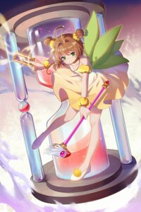 Rating: Safe Score: 20 Tags: card_captor_sakura dress duximeng kinomoto_sakura weapon User: RyuZU