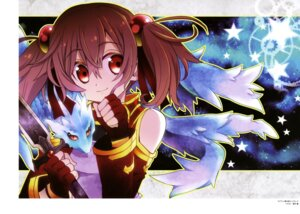 Rating: Safe Score: 25 Tags: hazuki_tsubasa pina silica sword_art_online weapon User: drop