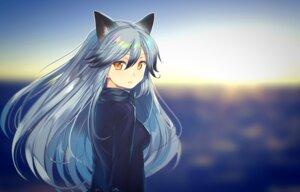Rating: Safe Score: 36 Tags: animal_ears kemono_friends okaka silver_fox User: fairyren