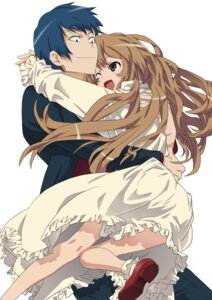 Rating: Safe Score: 24 Tags: aisaka_taiga b255 takasu_ryuuji toradora! User: Radioactive