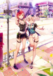 Rating: Safe Score: 59 Tags: cleavage dsmile fishnets garter heels tsundere_is_love User: charunetra