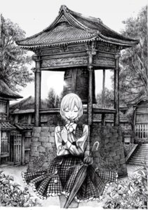 Rating: Safe Score: 7 Tags: dress kazami_yuuka monochrome nobita touhou User: Radioactive