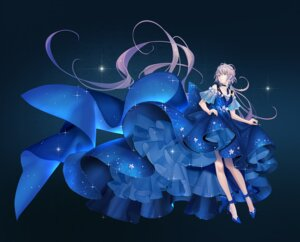 Rating: Safe Score: 14 Tags: dress heels luo_tianyi skirt_lift tidsean vocaloid User: BattlequeenYume